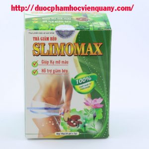 Slimomax Trà Giảm Cân Học Viện Quân Y