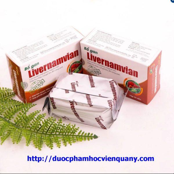 bổ gan livernamvian 30 viên