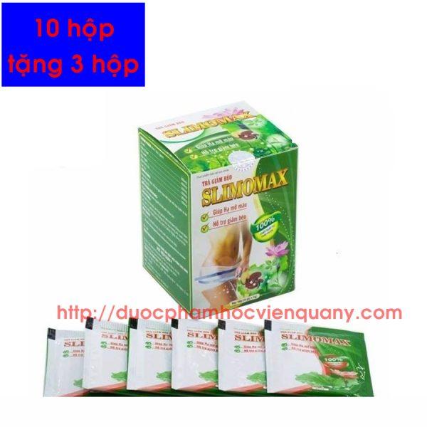 trà giảm cân slimomax học viện