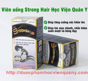 Viên Mọc Tóc Strong Hair Học Viện Quân Y Hộp 30 Viên