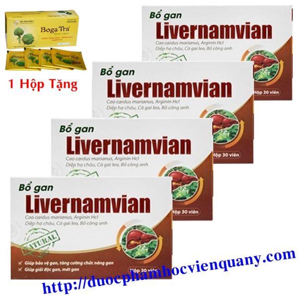 viên bổ gan livernamvian