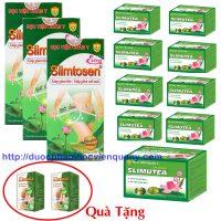 3 Liệu Trình Giảm Cân Slimtosen Extra Slimutea Tặng 2 Slimomax