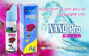 Dung Dịch Vệ Sinh Phụ Nữ Nano Pro Extra