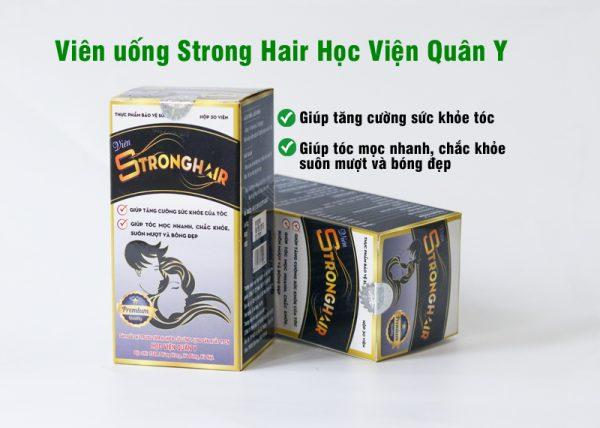 mọc tóc Strong hair Học Viện Quân Y